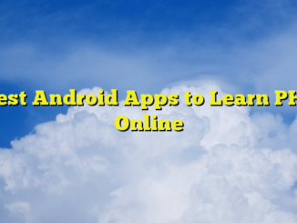 Best Android Apps to Learn PHP Online