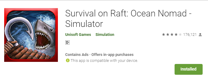 Survival on Raft Game Review