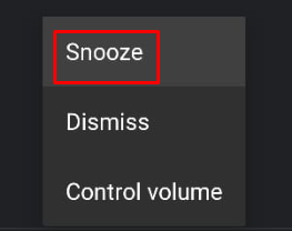 Alarm volume automatically goes down Fix