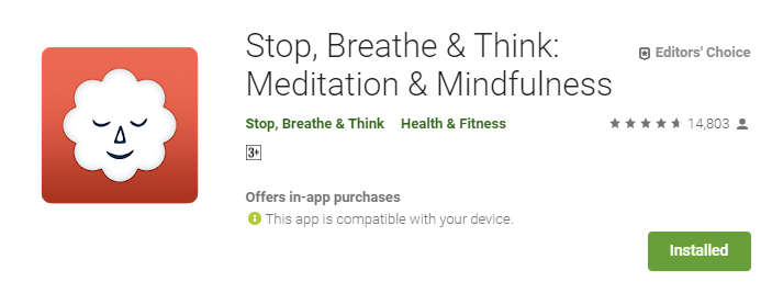 Best Meditation app for Mindfulness