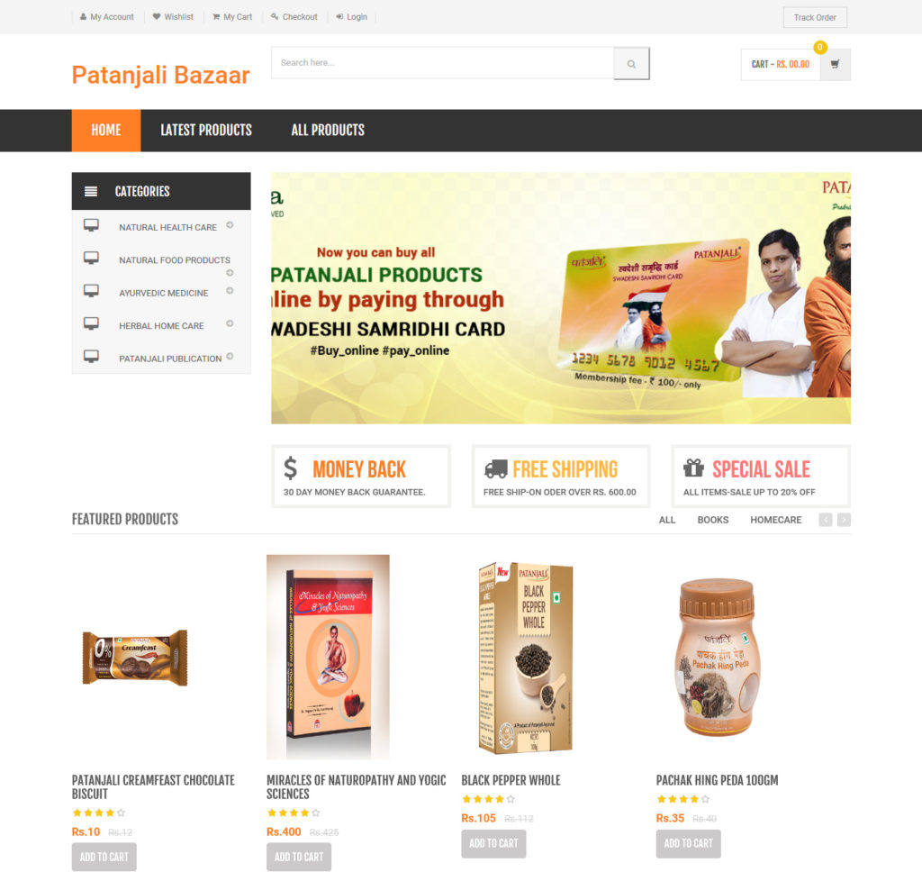 online shopping system androidchiefs.com